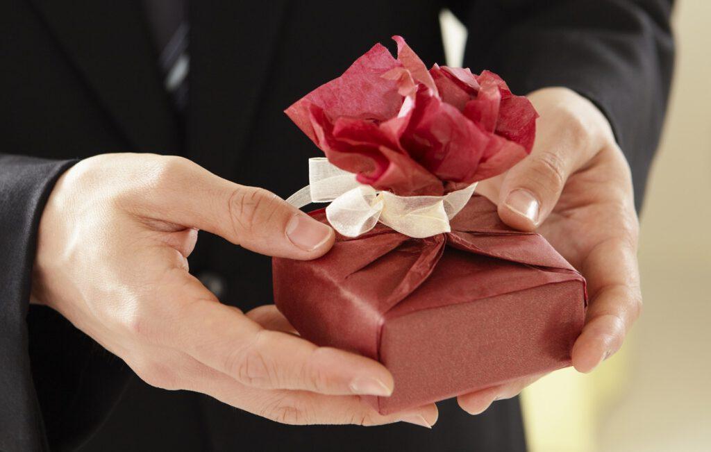 Jubileum geschenk